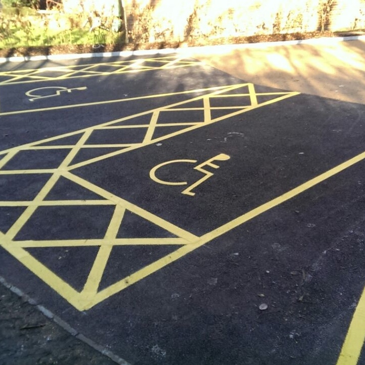 Parking and bay Marking Image